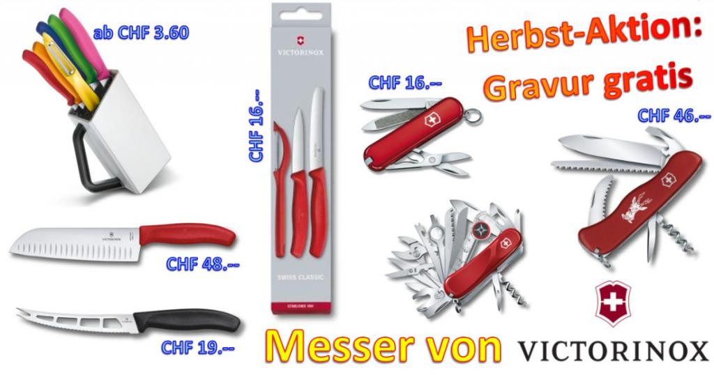 Herbstaktion auf Messer